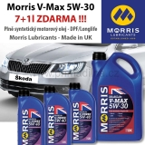 Morris Multilife V-Max - 5W-30 Fully Synthetic Motor Oil - low-SAPS-longlife, 8l