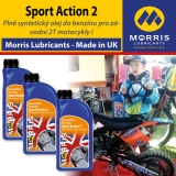 Morris SPORT ACTION 2 - motorcycle 2-Stroke Oil - racing, 3x1l