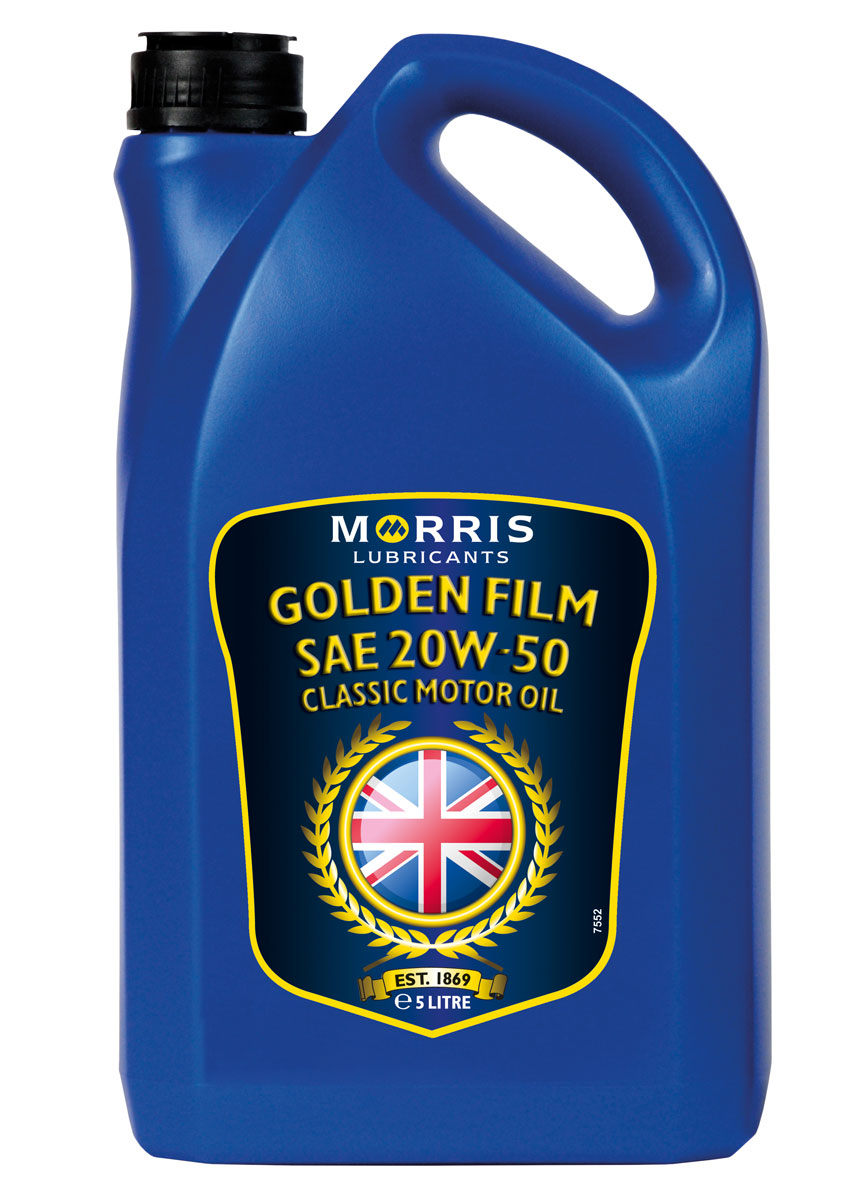 Morris Golden Film 20W-50 Classic Motor Oil, 5l