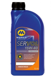 Morris Servol Performance Plus 15W-40 Mineral Motor Oil, 1l