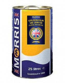 Morris Golden Film 20W-50 Classic Motor Oil, 25l