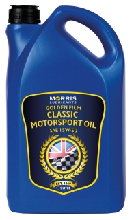 Morris Golden Film 15W-50 Classic Motorsport Oil, 5l