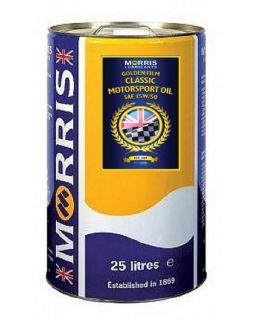 Morris Golden Film 15W-50 Classic Motorsport Oil, 25l