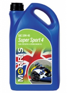 Morris Super Sport 4, 10W-40 - motorcycle 4-Stroke Oil road/race, 4l