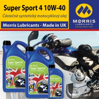 Morris Super Sport 4, 10W-40 - motorcycle 4-Stroke Oil road/race, 9l