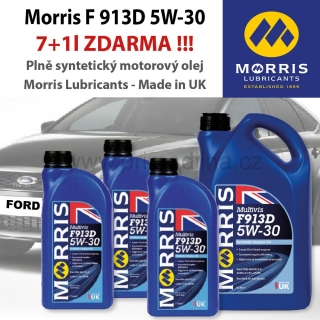 Morris Multivis F 913D 5W-30 Fully Synthetic Motor Oil - pro Ford - 8l