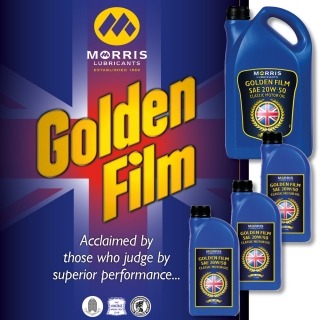 Morris Golden Film 20W-50 Classic Motor Oil, 8l