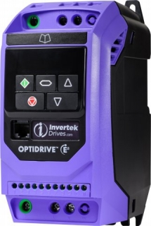 Optidrive E3 Single Phase , frekvenční měnič, vstup/výstup 1f/230V, IP20, 0.37kW