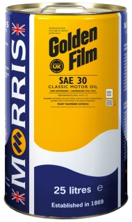 Morris Golden Film SAE 30 Classic Motor Oil, 25l