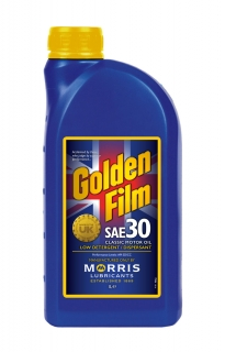 Morris Golden Film SAE 30 Classic Motor Oil, 1l