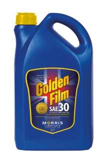 Morris Golden Film SAE 30 Classic Motor Oil, 5l