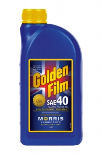 Morris Golden Film SAE 40 Classic Motor Oil, 1l