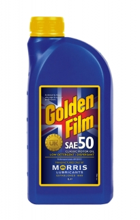 Morris Golden Film SAE 50 Classic Motor Oil, 1l