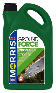 Morris Ground Force Croma 30 Chain & Cutter Bar Oil - řetězy motorových pil, 5l