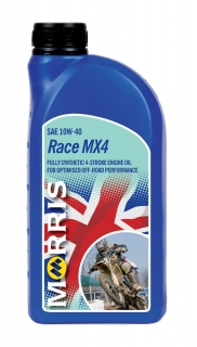 Morris Race MX4 10W-40 - motorcycle 4-Stroke Oil racing, 1l