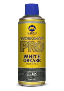 Morris WSP White Spray Grease, bílá vazelína ve spreji, 400ml