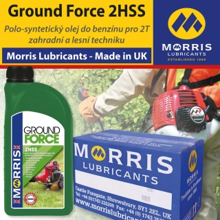Morris Ground Force 2HSS Universal 2 Stroke Oil, balení 12x1l