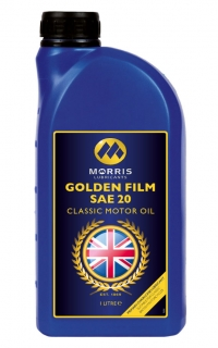 Morris Golden Film SAE 20 Classic Motor Oil, 1l