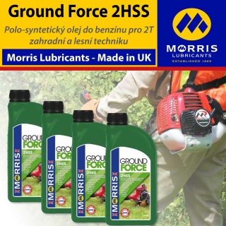 Morris Ground Force 2HSS Universal 2 Stroke Oil, balení 4x1l