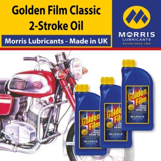 Morris Golden Film Classic 2-Stroke Oil, 3x1l
